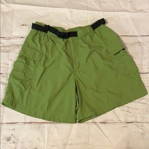 Columbia Hiking/Camp Shorts Size S Pockets Belt